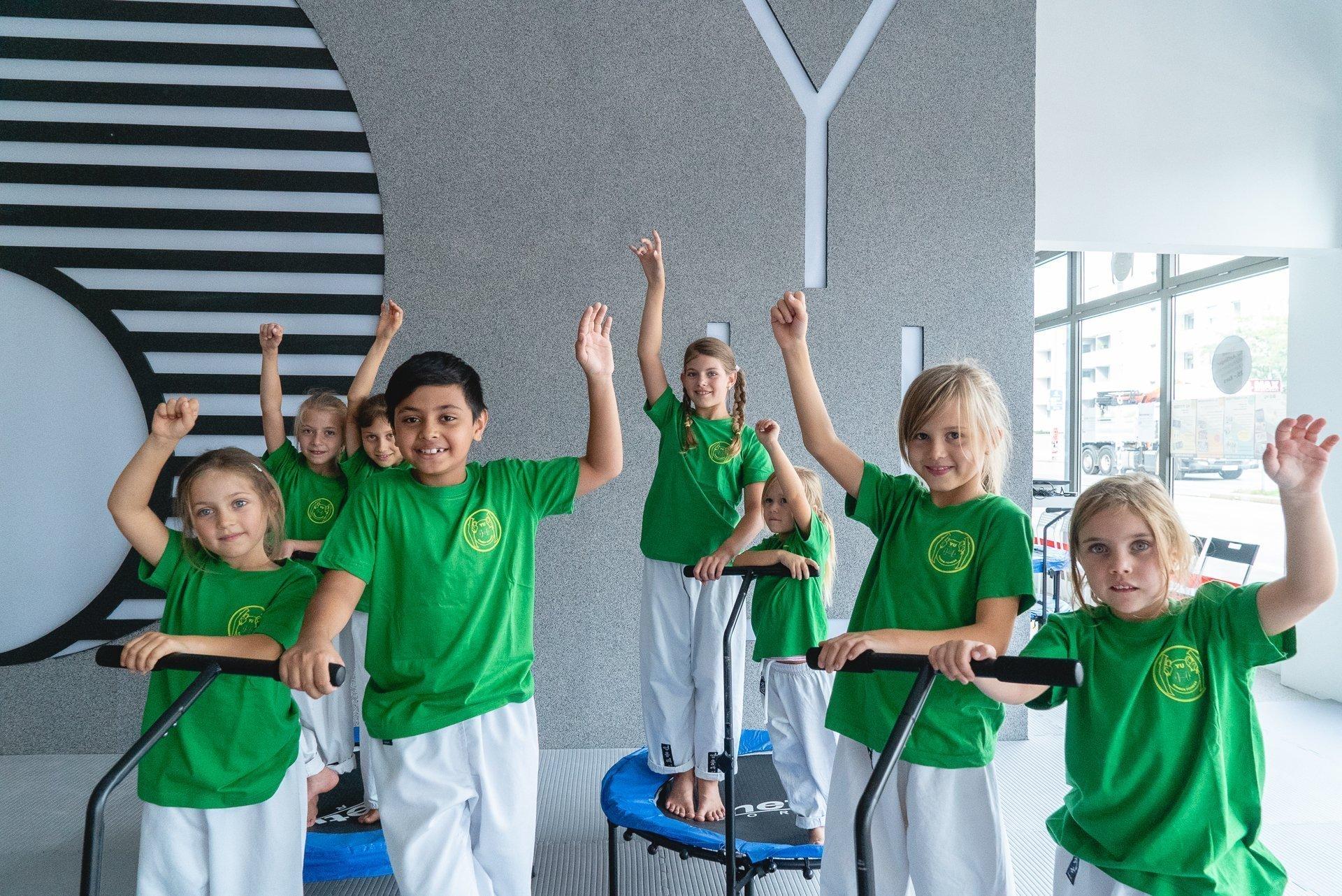 Bild zu Erfolgreicher Start für YU Kinderfitness